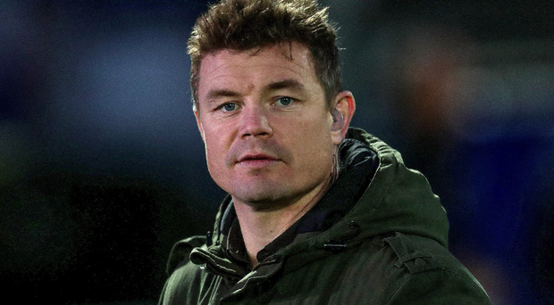 On the attack: Brian O'Driscoll hit back at Eddie Jones' comments
