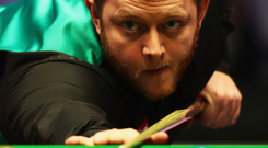 In line: Mark Allen has been impressing on the baize