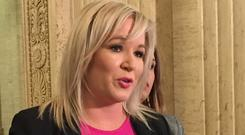 Sinn Fein's leader in Northern Ireland Michelle O'Neill has said the backstop is the