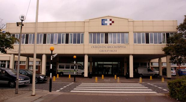 The woman and her mother spent 13 hours in Craigavon Area Hospital A&E.