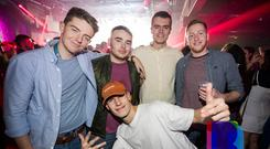 People out for Scratch Mondays at Limelight. 12th November 2018. Picture by Liam McBurney/RAZORPIX