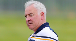 Second helping: Antrim manager Lenny Harbinson would welcome an 'alternative' All-Ireland series