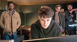 Cyber world: Claire Foy in her new film The Girl in the Spider's Web