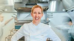 Clare Smyth at her London restaurant, Core