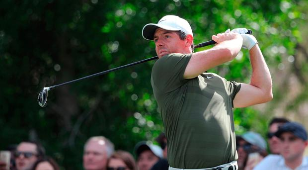 Massive improvement: Rory McIlroy happy with two rounds in the 60s in Dubai