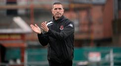 Class act: Crusaders boss Stephen Baxter feels Mark Sykes can shine on a bigger stage