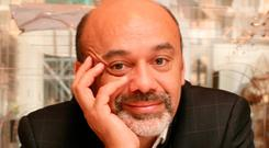 Christian Louboutin is renowned for his signature red-bottomed shoes