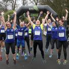 Born 2 Run Belfast Telegraph - Run Forest Run - Drum Manor, Cookstown - 17th November 2018 Ward Park Runners Photograph by Declan Roughan
