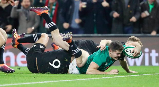 Image result for ireland v new zealand rugby