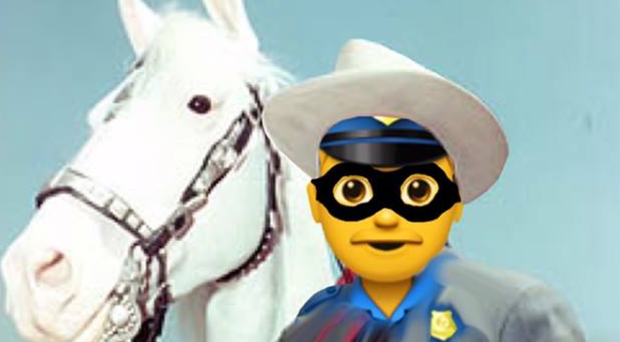The police officer was dubbed the 'Lone Ranger' by colleagues. Credit: PSNI.