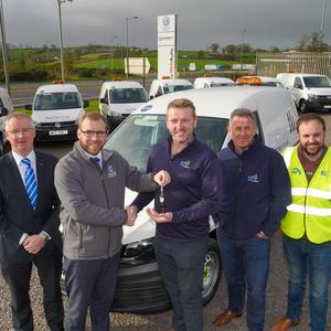 Geoffrey Lamont, Donnelly Group Dungannon; Chris Donnelly, Volkswagen Van Centre Dungannon; Padraig Laide; Mike Murphy; and Emmet Sherry, TLI