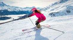 Healthy pursuit: a skiing holiday can provide plenty of benefits for the body