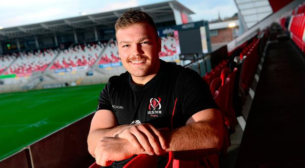 Key man: Eric O'Sullivan is pleased to have become an Ulster regular