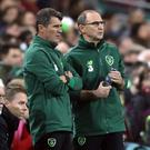 Martin O'Neill, right, and Roy Keane have left their jobs at the Republic of Ireland.