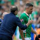 Republic of Ireland's Jonathan Walters is a fan of former manager Martin O'Neill.