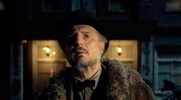 Ballymena actor Liam Neeson in The Ballad of Buster Scruggs