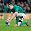 Special one: Ireland and Leinster out-half, Johnny Sexton, has been named the Guinness Rugby Writers of Ireland Player of the Year at the annual Guinness Rugby Writers of Ireland Awards