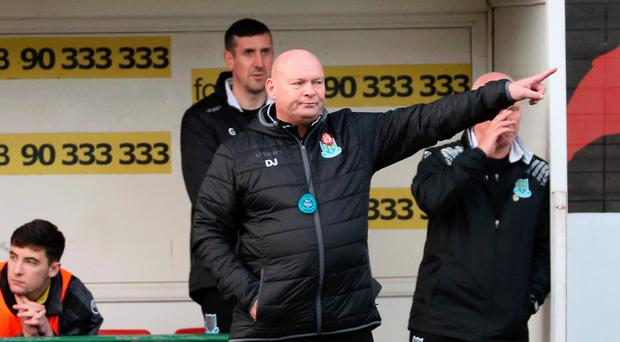Managing expectation: David Jeffrey is keeping feet firmly on the ground