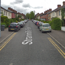 The burglary took place in Stranmillis Park. Credit: Google.