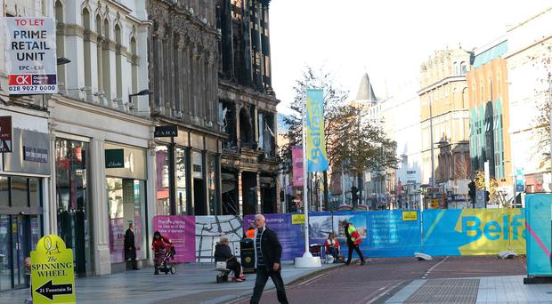 9a0aa230 Number of shops in Belfast city centre to reopen on Monday after ...