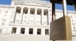 Ever wonder what the lack of government in Northern Ireland looks like? Then read our pages today on the 160-plus pieces of legislation which have piled up in eight of the Stormont departments since the Executive came crashing down. One department - Finance - refused to disclose what's in its in-tray.