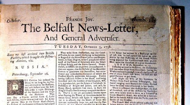 The News Letter is the oldest continuously published English language daily newspaper in the world.
