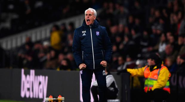 Familiar face: Mick McCarthy is back at the helm of the Republic of Ireland