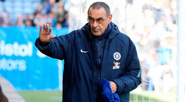 Chelsea boss Maurizio Sarri: We've had a mental problem