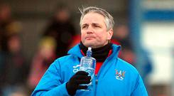 Tough time: Colin Nixon is hoping Ards can raise their game