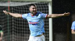 Ballymena's Jonathan McMurray has been transfer listed.