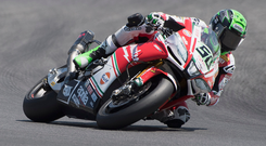 Speed star: Eugene Laverty has signed with Italian Go Eleven Ducati team
