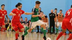 Banbridge Town Futsal Club's Craig Taylor is part of the NI squad for this weekend's Home Nations.