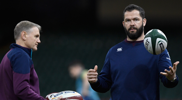 0bdc305058550f Big handover: Joe Schmidt will leave Andy Farrell with the Ireland reigns  after the 2019