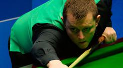 Lining up: NI ace Mark Allen is through to the second round