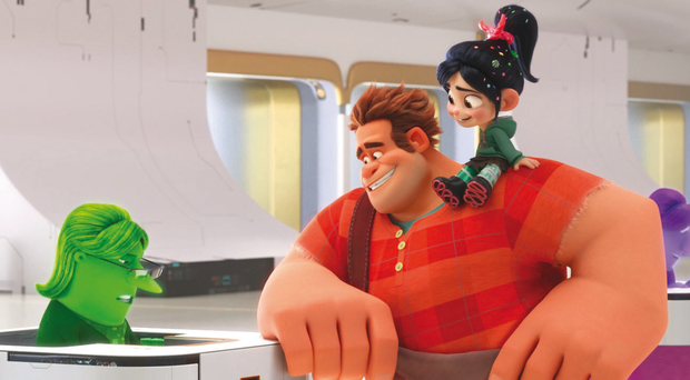 New world: a scene from Ralph Breaks the Internet