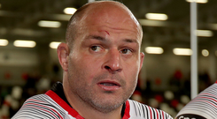 Back for province: Rory Best