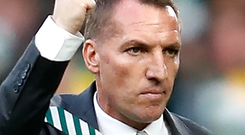 Victory march: Brendan Rodgers is eyeing more success