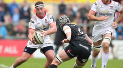 In hand: Rob Herring is relishing his 150th Ulster appearance