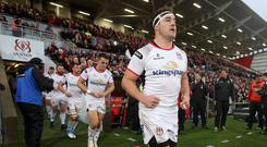Ulster's Rob Herring makes his 150th appearance for the province.