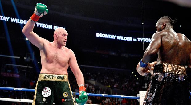Fight statistics show Tyson Fury outboxed Deontay Wilder in LA boxing showdown
