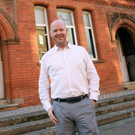 Mark Dowds outside Ormeau Baths in Belfast city centre