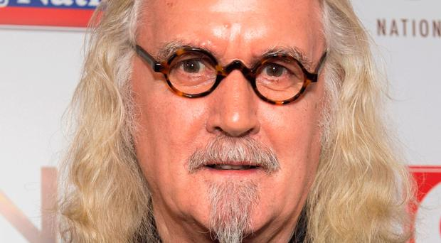 Worried: Sir Billy Connolly