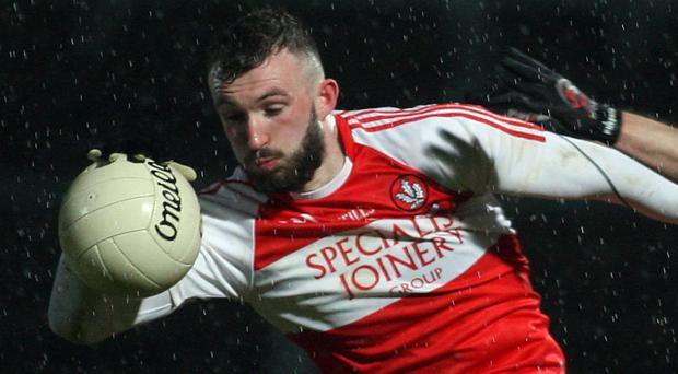 Upbeat stance: Derry's Terence O'Brien is setting sights high