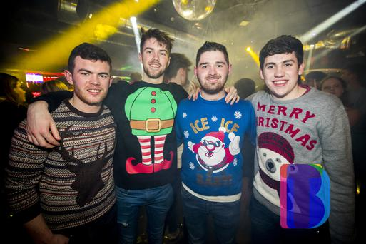 05 Dec 2018 People out at Bot Wednesdays legendary Christmas Ball. Picture by Liam McBurney/RAZORPIX