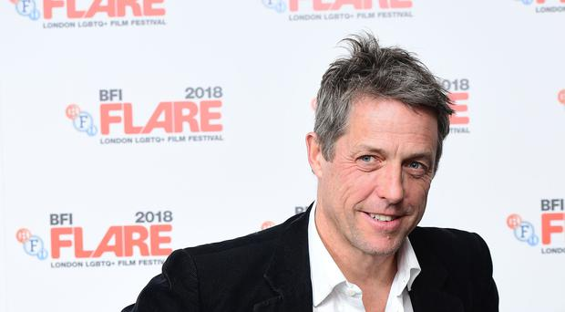 Hugh Grant made a joke about Vaseline following his Golden Globe nomination (Ian West/PA)