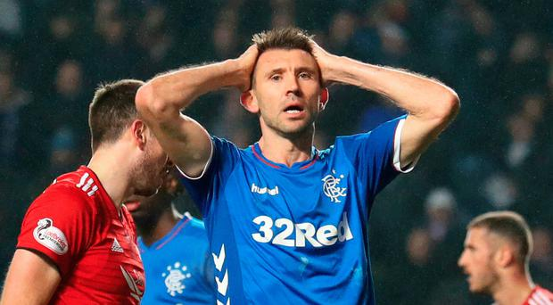 Rangers beaten at Ibrox by Aberdeen