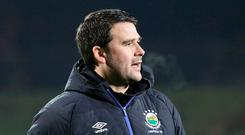 High expectations: Linfield manager David Healy