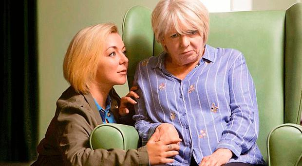 Sheridan Smith (left) and Alison Steadman in Care, the new 90-minute BBC drama