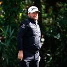 So near: Graeme McDowell and Emiliano Grillo fell short