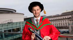 Four-time World Superbike Champion, Jonathan Rea received the honorary degree of Doctor of Letters for his outstanding contribution to sport